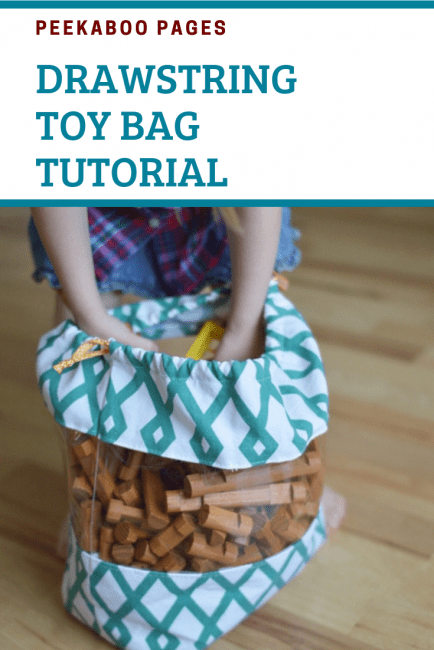 DIY Drawstring Bag