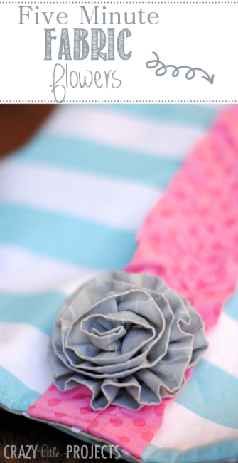 Fiveminutefabricflowers