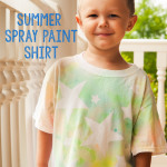 Summer Spray Paint Shirt