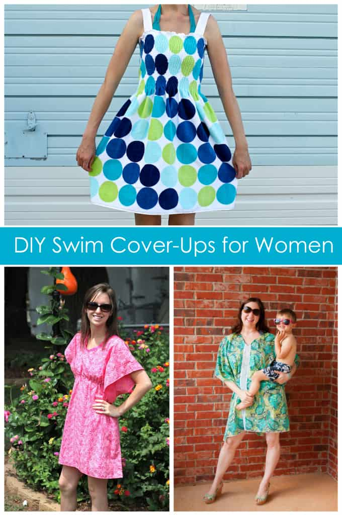 ba2b68c395 6 DIY Women's Swim Cover-up Tutorials - Peek-a-Boo Pages - Patterns, Fabric  & More!