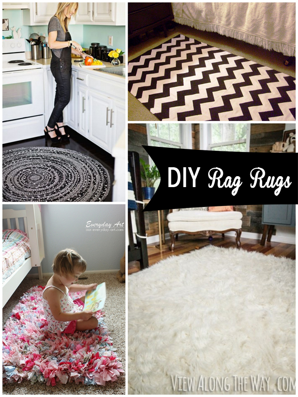 DIY rag rugs