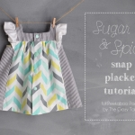 Sugar & Spice Snap Placket Tutorial
