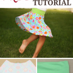 Free Skater Skirt Pattern for Girls
