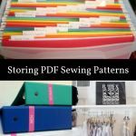 Storing Sewing Patterns: Organizing Your PDF Sewing Patterns
