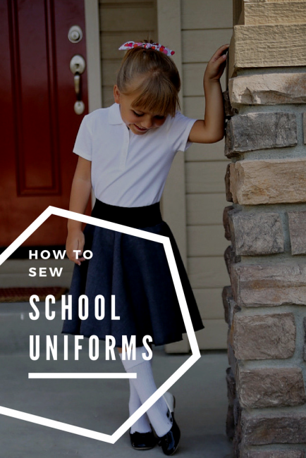 How to Sew School Uniforms
