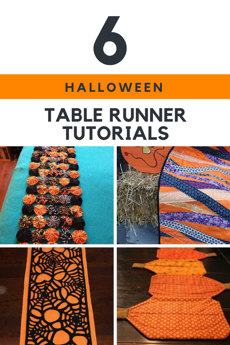 Halloween Table Runner Tutorials