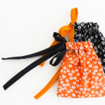 How to sew Halloween drawstring bags?