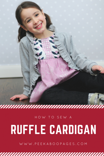 Ruffle Cardigan Tutorial