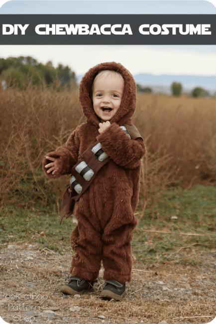 DIY Chewbacca Costume