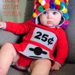 DIY Baby Gumball Machine Costume