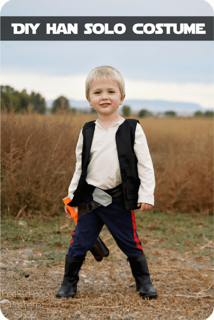 Kids Han Solo Costume Tutorial