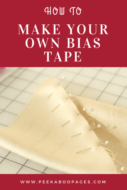 Making Your Own Bias Tape