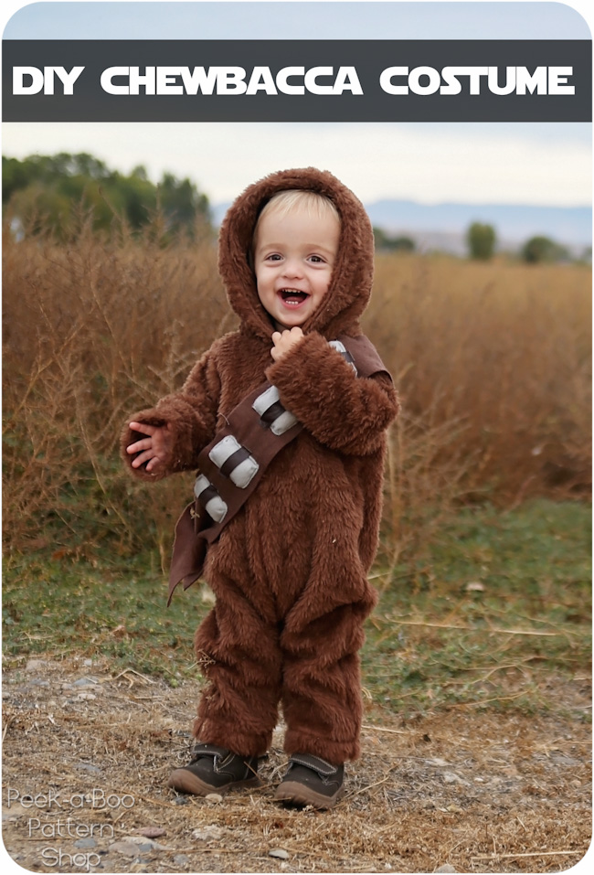 Diy Chewbacca Costume Peek A Boo Pages Patterns