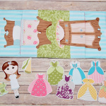 DIY Fabric Paper Dolls
