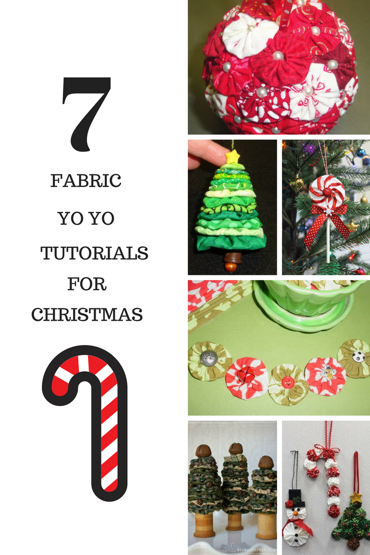 fabric yo yo tutorials