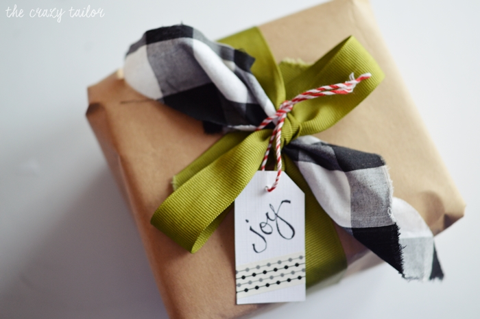 Last Minute Gift Wrapping