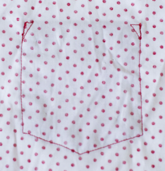 How to sew a patch pocket - Tutorial by Pienkel for Peek-a-Boo Pages4