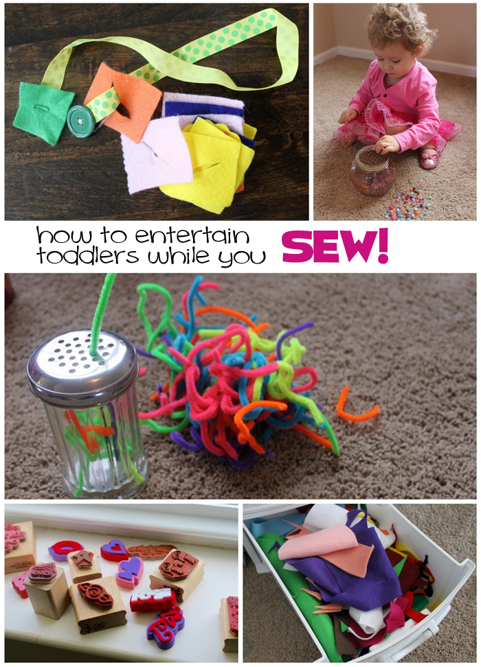 entertain toddlers