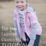 Faux Layered Classic Oxford Tutorial