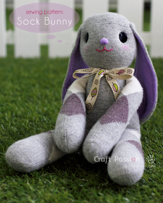 long-ear-sock-bunny
