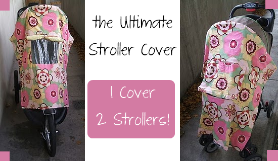 stroller cover tutorial