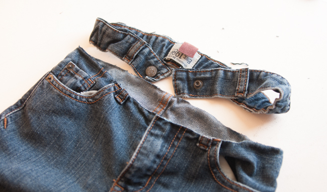 If Your Jeans Have Belt Loops They Will Likely Now Be Cut In Half Open Up The Remaining Part Of Loop And Snip Off That Is Closest To