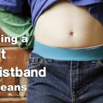 Adding a Soft Waistband to Jeans