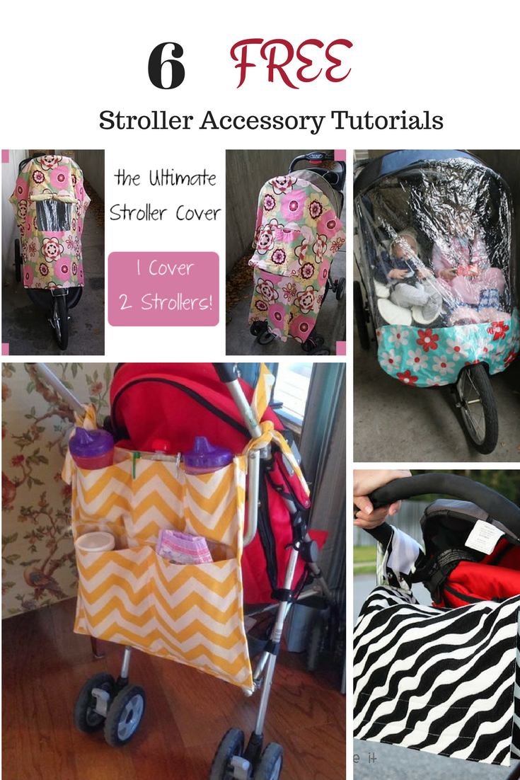 Stroller Accessory Sewing Patterns