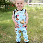 Lil' Rascal Romper Sewing Pattern release!