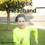 Athletic Headband Tutorial