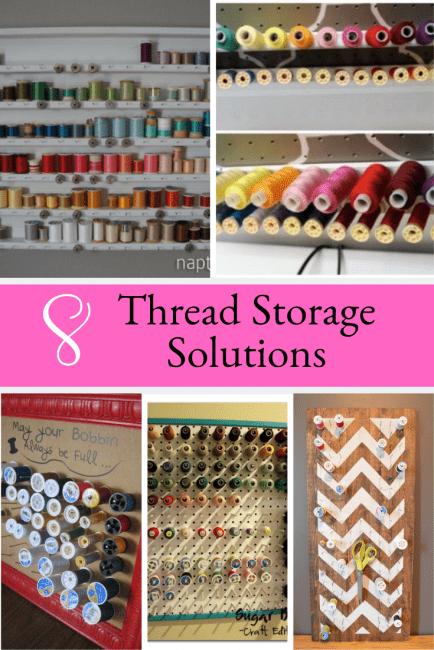 DIY Thread Storage