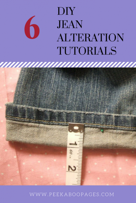 DIY Jean Alterations