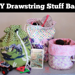 DIY Drawstring Stuff Bag Tutorial