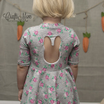 Bunny Cutout Dress Tutorial