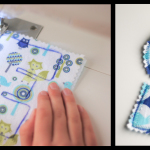 Teach Your Child How to Sew: Lesson Two – Fabric Letters