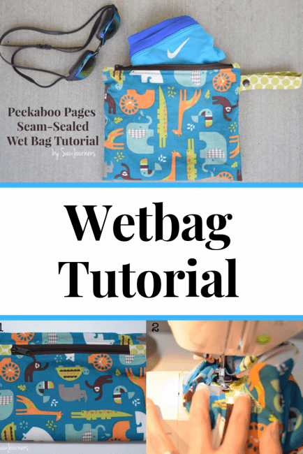 How to make a wetbag for swimming