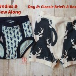 Kids Undies & Socks Sew Along Day 2: Classic Briefs and Boxer Briefs