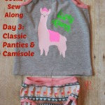 Kids Undies & Socks Sew Along Day 3: Classic Panties and Camisole