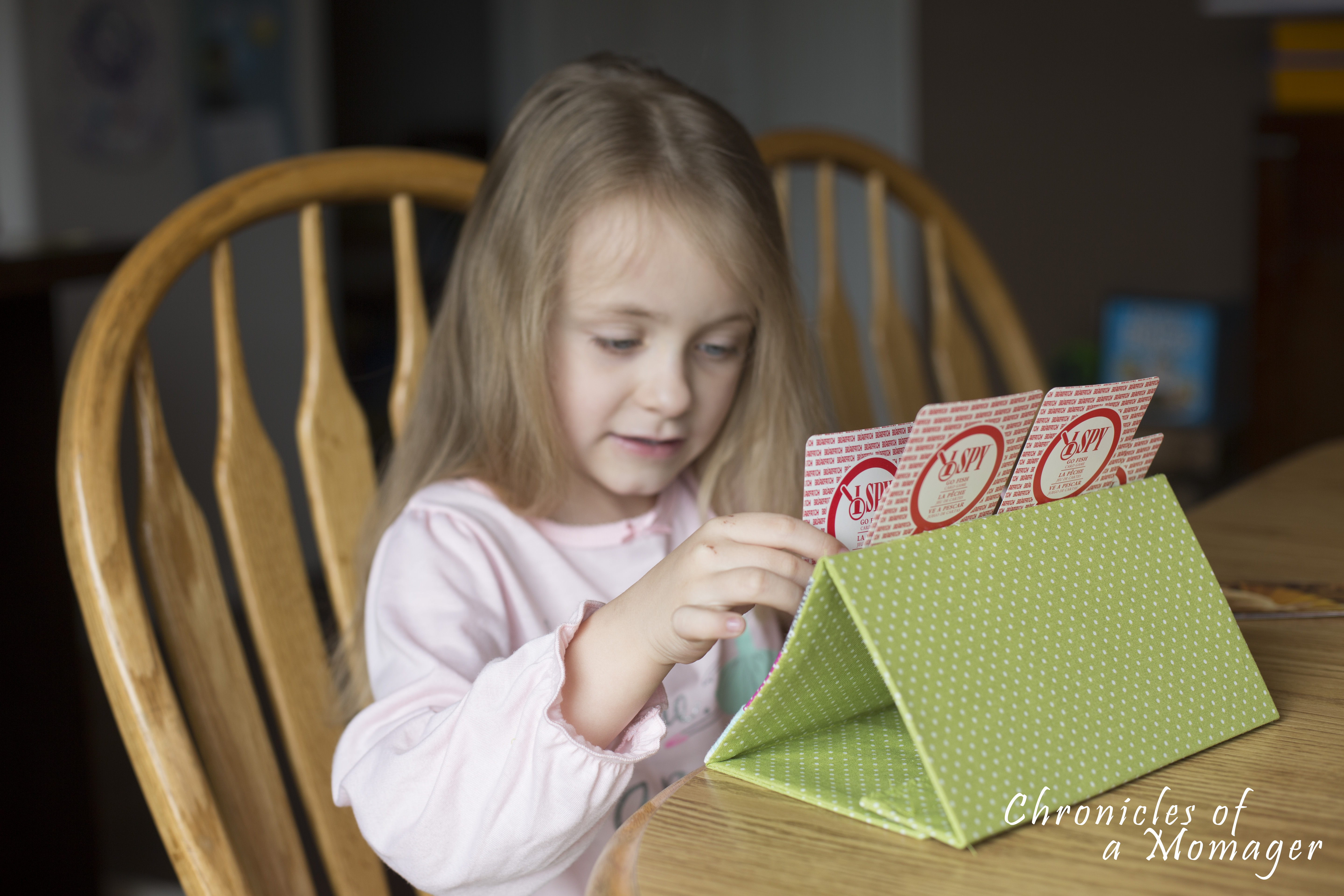 Playing Card Caddy Tutorial - Peek-a-Boo Pages - Patterns