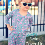 Swim Cover-Up for a Girl
