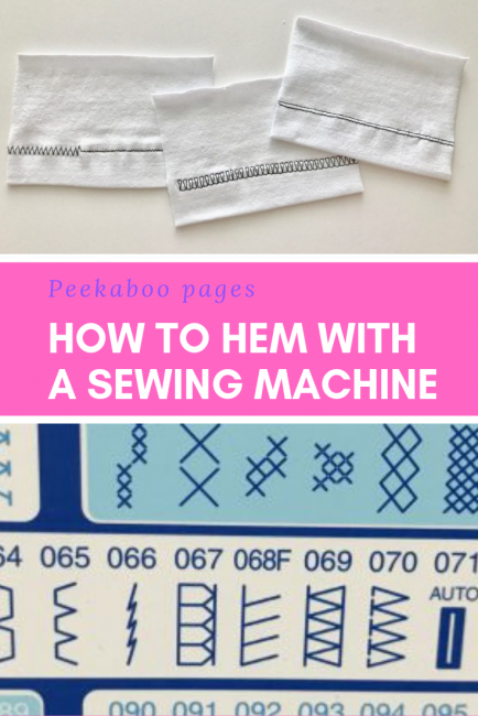 Hemming Without a Serger