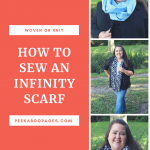 How to Sew an Infinity Scarf