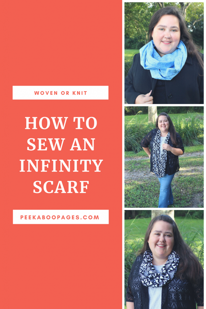 Canva Image created by Marci Debetaz - Infinity Scarf