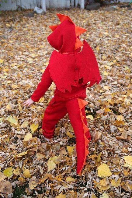 Diy Kids Dragon Costume Peek A Boo Pages Patterns
