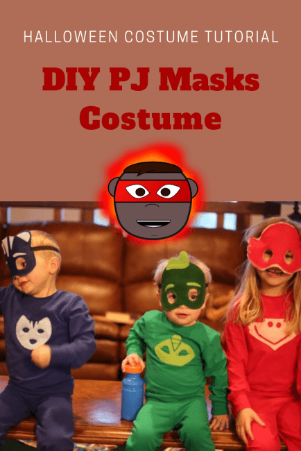 DIY PJ Masks Costume Tutorial