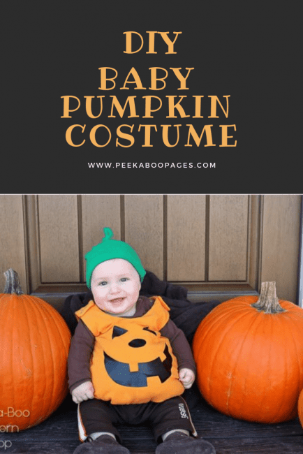 Baby Pumpkin Costume Tutorial