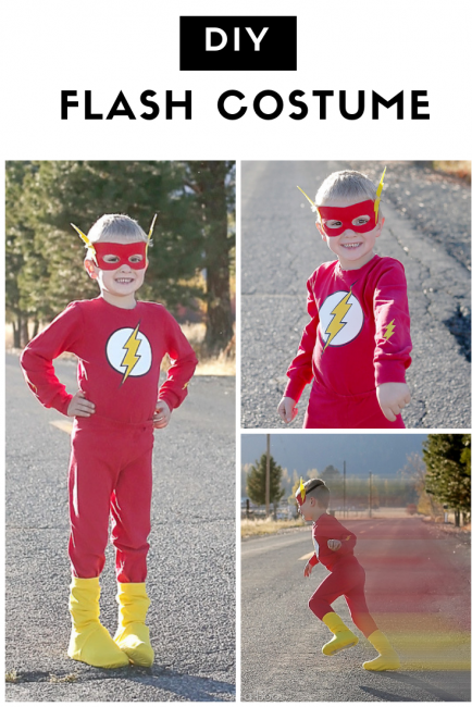 Halloween Flash Costume Tutorial