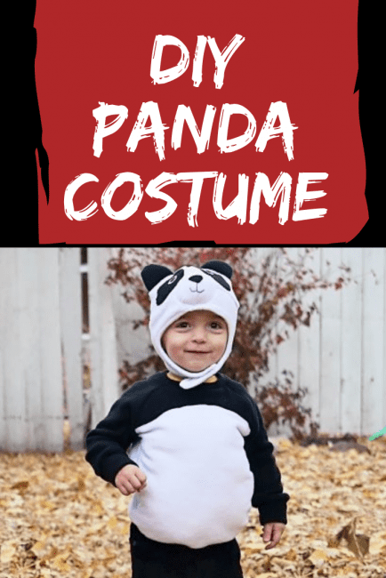 DIY Panda Costume Tutorial