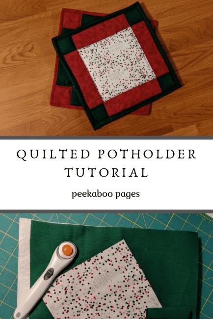 DIY Quilted Potholder