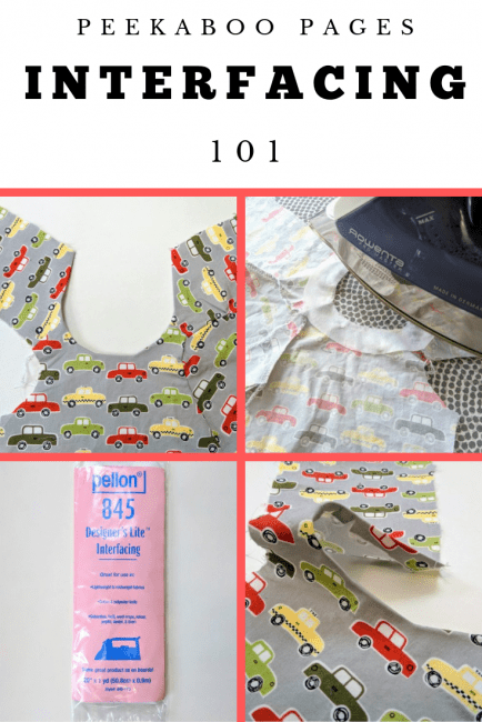 How to Sew Interfacing